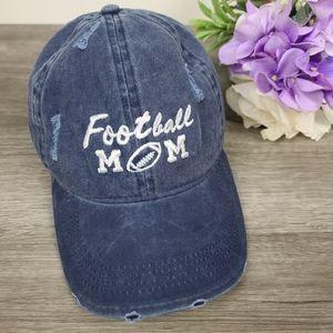David and Young Football Mom adjustable cap